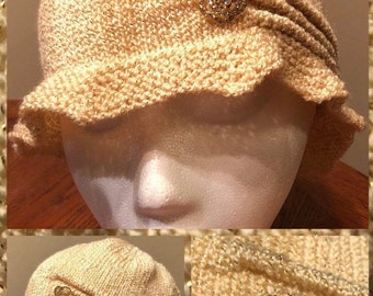 Gold Dust Woman Toque Hat