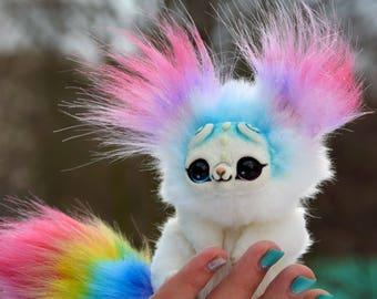Small Rainbow Kitten