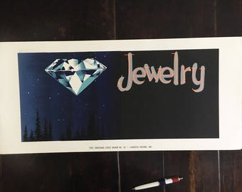 Jewelry Poster sample