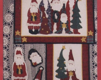 The Christmas Crew by Leslie Beck - Christmas Quilt & Ornaments Pattern - UNCUT - Q116