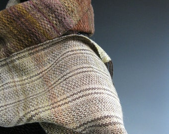 Handwoven Scarf: Turkey Tail