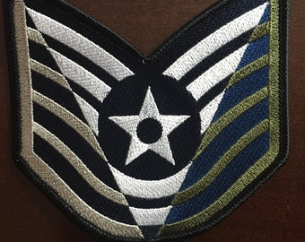 A Career in STRIPES - 3 colors (TSgt)