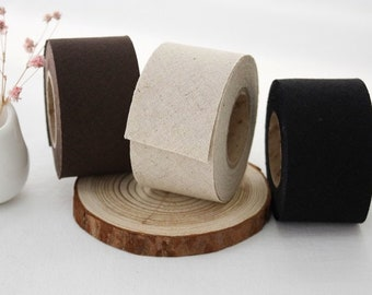 8 Yard (7.2M), Linen Cotton Bias TapeS, in 3 popular colours