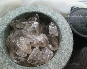 Smoky Quartz Set of 2   Small Raw Smoky Quartz Crystal, Raw Crystals, Raw Stones, Rough Smoky Quartz, Healing Crystals and Stones
