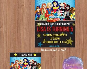DC Superheroe Girl Birthday