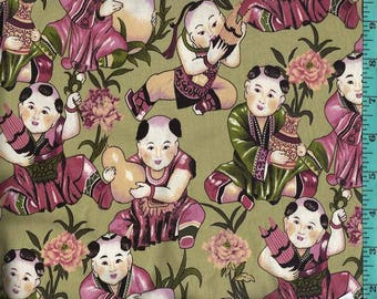 China Doll Fabric Quilting Crafting Home Decor
