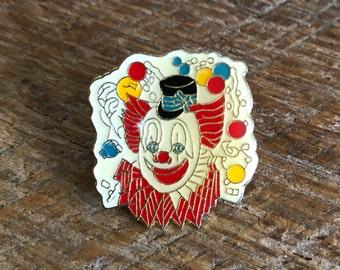 Vintage Clown Pin