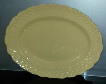 J&G Meakin Sol Sunflower Large Oval Serving Platter