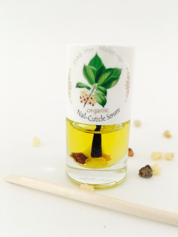 NEW! Organic Nail and Cuticle Serum with free Wood Cuticle Pusher ...