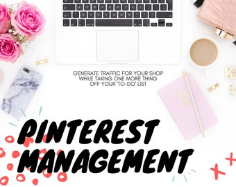 Pinterest Management | Social Media Marketing | Etsy Shop Help | Social Media Management | Advertising | Etsy Sellers | Pinterest Marketing