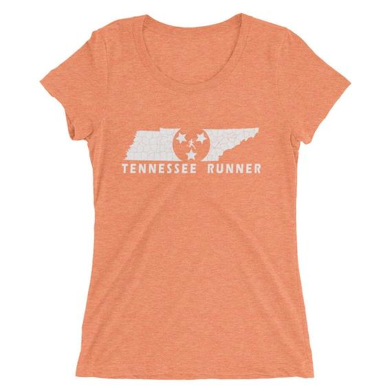 Women's Tennessee Runner Triblend T-Shirt - Run Tennessee - Women's Short-Sleeve Shirt