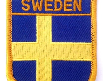Sweden Embroidered Patch