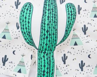 FREE SHIPPING Cactus, Stuffed cactus, Pillow, Nursery Decor, Soft Toy, Plush Toy, Kids Room Decor, cactus Cushion, Decorative Pillow, cactus