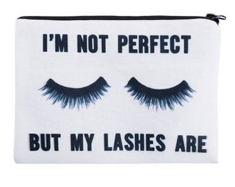 Makeup bag| cosmetic case | lashes