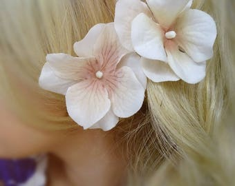 Cream Hair Flower Set, Hair Flower, Cream Hair Clip, Bridal Hair Flower, Wedding Hair Flower, Bridal Hair Clip, Hair Flowers