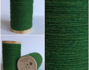 Rustic Moire Wool Thread #820 for Embroidery, Wool Applique and Punch Needle Embroidery