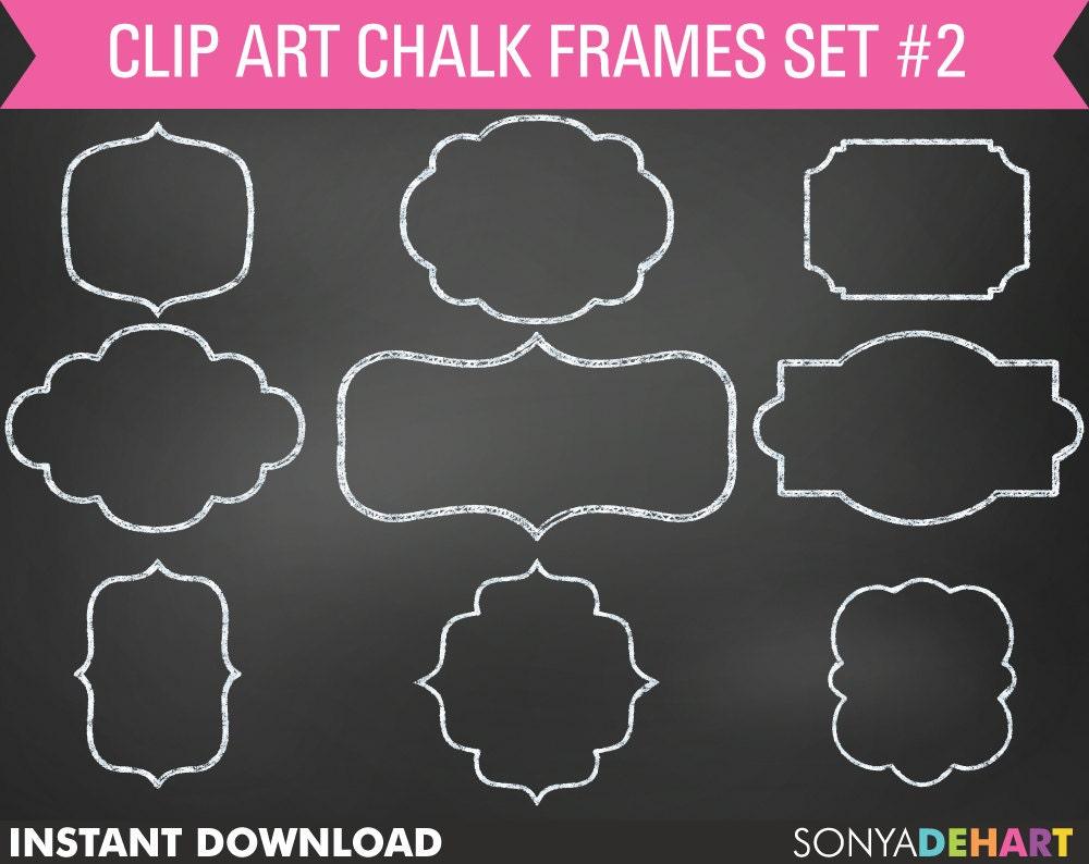 Chalk Frame Clipart Chalkboard Frames Frame Clip Art