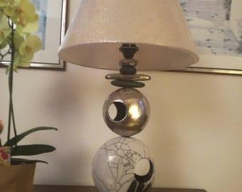 Raku Lamp Zen Balance
