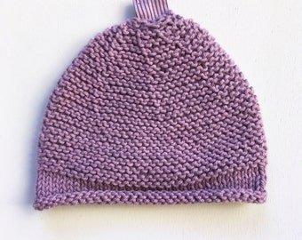 Hand knitted cotton Hat