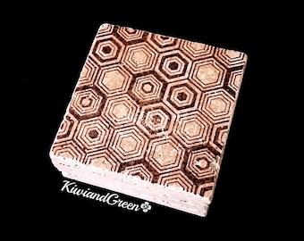 Living Room Decor - Coaster Set - Geometric Handmade Coasters - Housewarming Gift - Gift for Him - Office Decor - Stone Coasters