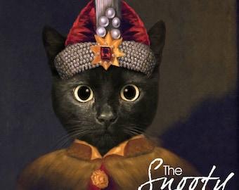 CAT PORTRAIT – Dracula Cat Portrait Custom, Pet Portraits, Custom Pet Portraits, Cat Art, Pet Portraits From Photo, Custom Cat Portraits