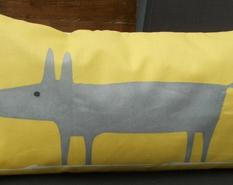 fox pillow cover - Fantastic Mr fox pillow cover - nursery decor - mr fox pillow cover- fox cushion cover - decorative pillow - foxy pillow