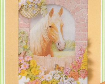 DECOUPAGE 3D PICTURE Kids Craft Kit ~ Just Curious, Brand New