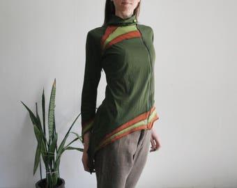 Vintage L/XL pixie jersey cardigan