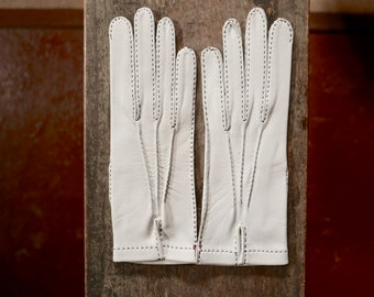 Vintage Leather Driving Gloves 7 NOS