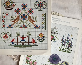 Pearsall's Simple Cross-Stitch patterns