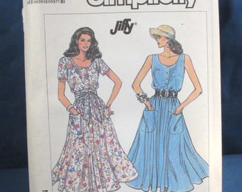 Vintage Simplicity Pattern 7944 Misses Dress Sizes 10 through 16
