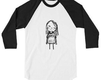 3/4 sleeve Circle shirt