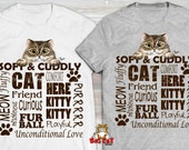SOFT AND CUDDY Cat T-shir...