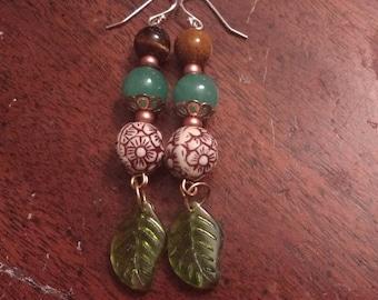 Victorian Garden Earrings