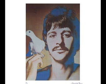 Vintage Ringo Starr Print by Fairchild Paris