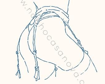 Print: Suspender (2)