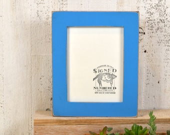 """6x8"""" Picture Frame in 1.5-inch standard Style and Color OF YOUR CHOICE - Handmade Wooden 6x8 Photo Frame - 6x8 Art Frame"""