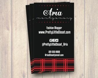Edgy business card etsy colourmoves