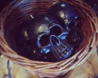 Loaded Skull Candles