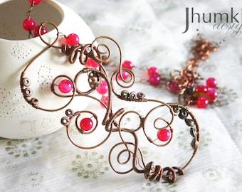 SALE Amitabha Pushkarini /// Necklace by Jhumki Luxe - designs by raindrops