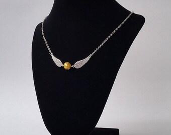 Golden Fairy Necklace