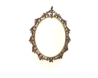 Lovely brass mirror