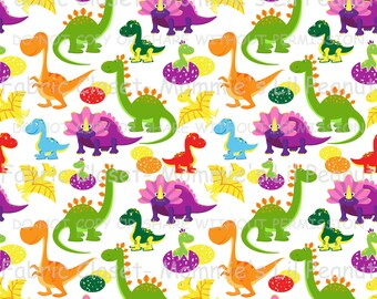 Dino Medley MLP Custom Cotton/ Lycra Jersey Knit Mommie's Lil Peanut Exclusive sewing apparel fabric By The Yard MLP-1504