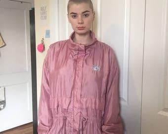 Windbreaker - Fleece Lined - Pink