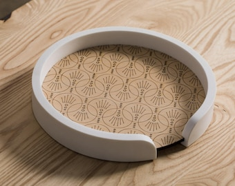 Traverse Tray – Pearl Deco // decorative tray
