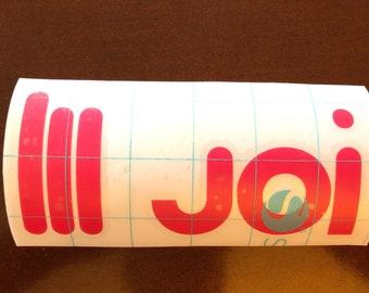 Balde Runner 2049 joi Decal Sticker