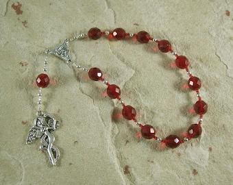 Lilith Pocket Prayer Beads: Sumerian/Babylonian Goddess of Fertility and Free Will.