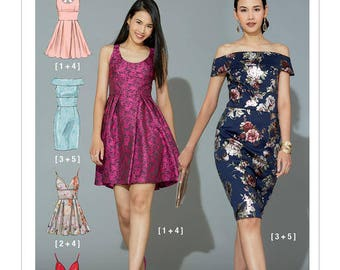 M7719 McCall's dress sewing pattern