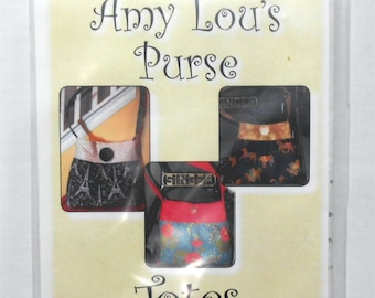 Pattern- Amy Lou's Purse -Totes by Sandy #2272