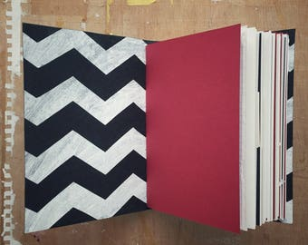 She's Filled With Secrets - Travel Journal - 4.5 x 6 inch A6 - Twin Peaks Journal